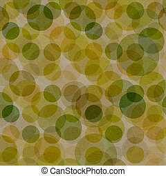 Vintage background with dots patten