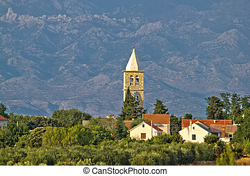 Dalmatian village of Zaton and Velebit - Dalmatian village...