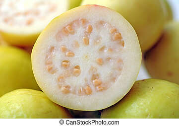 guava - surface of chopped guava