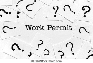 Work permit