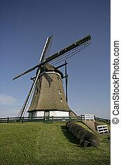 WINDMILL Molen Het Noorden, Texel, Holland
