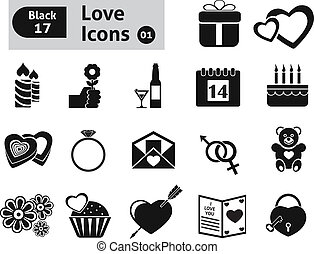 Valentines icon Vector set for you design