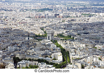 Paris from Above - Paris from above, seen from the Eiffel...