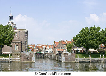 Enkhuizen - The old fishermans village of Enkhuizen, the...