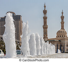A general view of Sharjah UAE