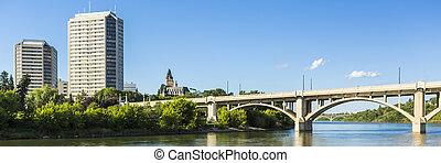 Saskatoon View - A look at the city of Saskatoon, Canada...