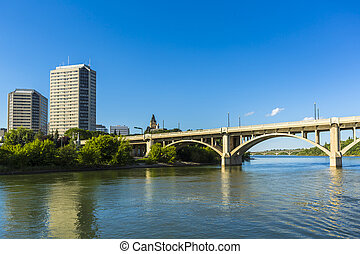 Saskatoon View - A look at the city of Saskatoon, Canada...