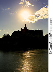 City of Saskatooon - The city skyline of Saskatoon,...
