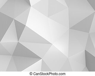 paper background - 3d abstract white paper background