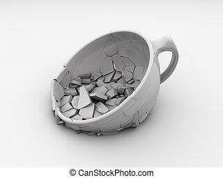 breaking cup