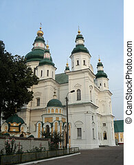 orthodox temple, Chernigov - priory, orthodoxy, Chernigov,...