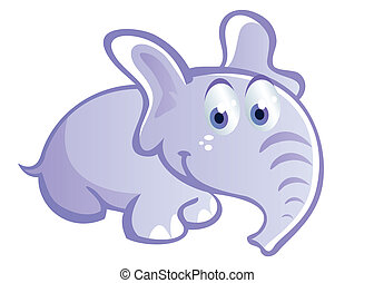 baby elephant cartoon