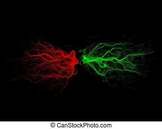 swarm - particles swarm.power,soul,energy etc concept