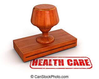 Rubber Stamp health care - Rubber Stamp health care. Image...