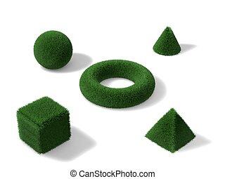 grass object
