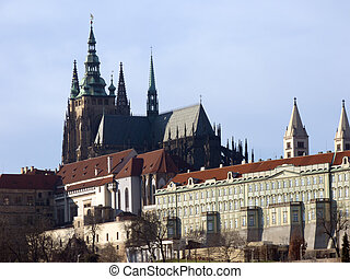 Prague Castle and St Vitus Cathedral, Czech Republic