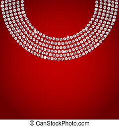 Abstract beautiful diamond background vector illustration