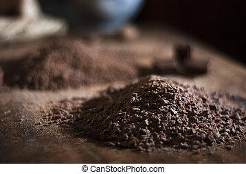 Chocolate making truffles - Chocolate for making truffles...