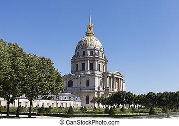 Les Invalides, Paris, France.