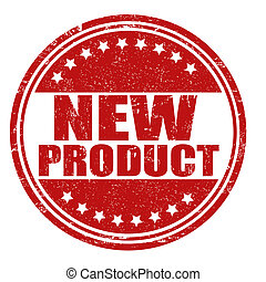New product stamp - New product grunge rubber stamp on...