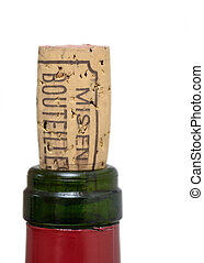 Bottle of wine cork