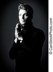 prayer man