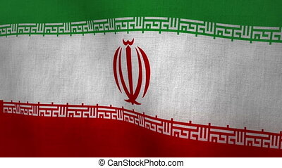 Iran Flag Textured Loop-able - Flag Background Textured...