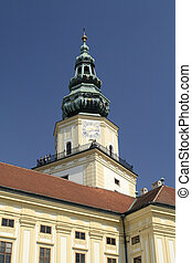 Clock Tower in Kromeriz - The Archbishop's Palace used to be...