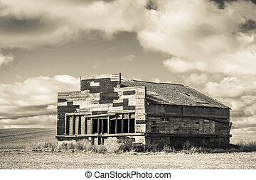 Old General Store - An abandoned old rustic general store...