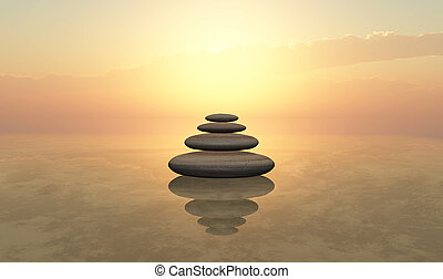 Zen - stones Zen