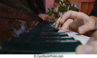 Piano Player Hands
