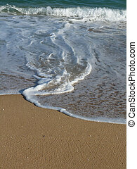 Sand and water
