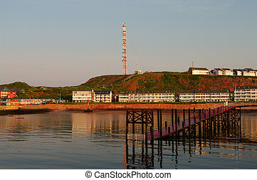 Helgoland Sunset - German paradise island in the North sea