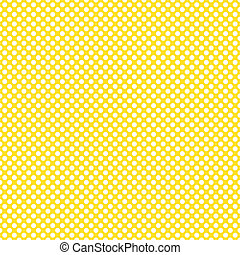 Polka dot pattern - Seamless white polka dot pattern on...