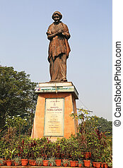Indira Gandhi Statue Calcutta India - the Indira Gandhi...