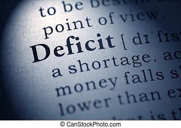 deficit - Fake Dictionary, Dictionary definition of the word...