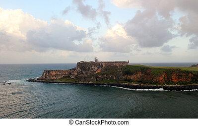 Fort San Felipe Del Morro - El Morro Fortress in San Juan,...
