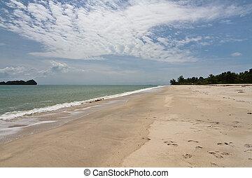 Langkawi Island Beach 3 - Beach of Langkawi Island facing...