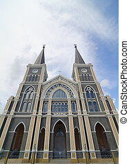 Catholic church at Chantaburi province, Thailand