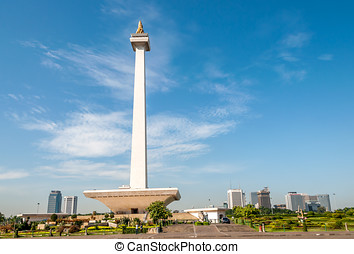 National Monument Indonesia - National Monument - Monas...
