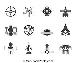 future spacecraft icons