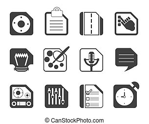 omputer and Internet Icons