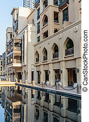 View of Palace Hotel in Dubai, UAE