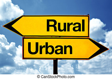 Rural or urban
