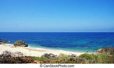 Pessegueiro Beach.  Porto Covo, Portugal.
