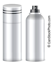 deodorant spray - Deodorant spray on white background Vector...