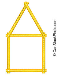 tape measure house
