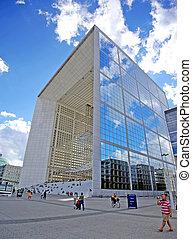 Grande Arche Paris - PARIS, FRANCE - August 2: The Grande...