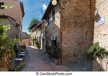 Historic Centre of Certaldo,Tuscany