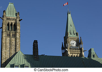 Parliament Building - Parliament Hill is an area of Crown...